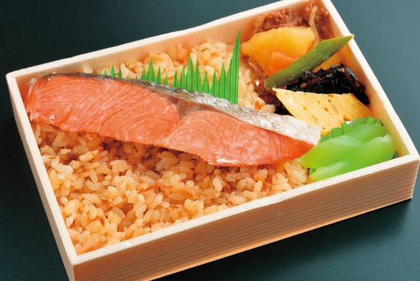 鮭&炊き込み弁当